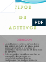 Power Point de Aditivos