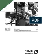 Stahl New Operating Instruction Manual-Chain Hoist