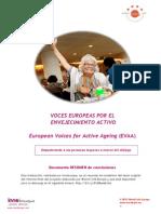 Voces Europeas Por El Envejecimiento Activo 2013