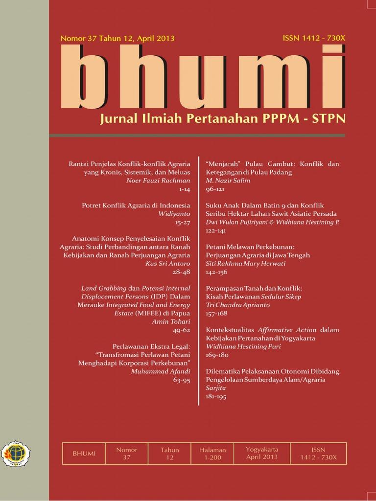 Jurnal Bhumi No 37 Tahun 12-203 84ca65490a