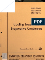 Cooling Towers and Evaporative Concensers (1957) by BRI