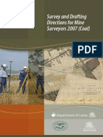 Survey and Drafting Directions for Mine Surveyors 2007 NSW Coal