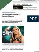 Marissa Mayer Biography - Business Insider