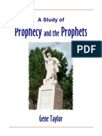 Prophets and Prophecy