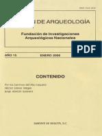 Boletin de Arqueologia  FIAN año 15 n1
