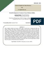 Recent Development in T2DM_review_JP Yadav_2010