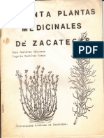 30 Plantas Medicinales de Zacatecas