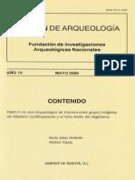 Boletin de Arqueologia  FIAN año 15 n2