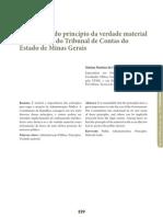 Aplicação da verdade material nas decisões do TCE-MG - Marina Martins da Costa Brina