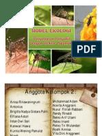 Ppt Model Ekologi Nyamuk