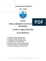 [Report] Final Project of Statistic