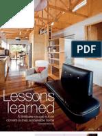 Sanctuary magazine issue 8 - Bardon, Brisbane sustainable house profile