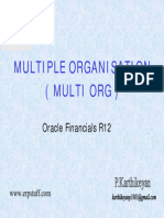 Oracle Applications R12 - All About Multi Org