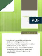 Pembangunan Diri (kemahiran komunikasi)