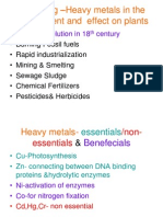 Heavy Metals & Plants