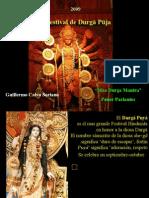 El Festival de Durgā Pūja - de la Diosa Durga - La India