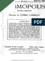 Cosmópolis (Madrid. 1919). 5-1919, no. 5