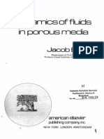 Dynamic of Fluids in Porous Media