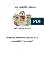 Do RCs KnOw History Behind Official Coat of Arms of the Franciscans?