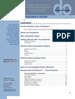 Teacher's Guide for Teaching Kindness