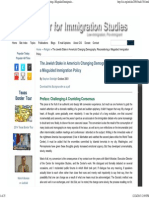 The Jewish Stake in America's Changing Demography_ Reconsidering a Misguided Immigration Policy