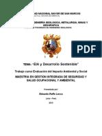 Caso Practico 1. Eia y Desarrollo Sostenible