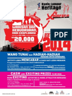 1Kuala Lumpur Heritage Xplorace 2014 Flyer Form