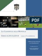 La Classifica alla Moviola, Serie A 2012/13 - 17a Giornata