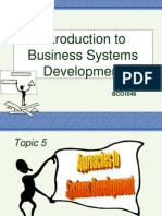 Introduction to Business Systems Development