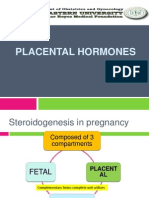 Placental Hormones