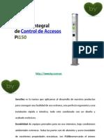 Control de accesos, Semáforos Pi150