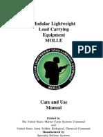 Military Molle Care Use Manual