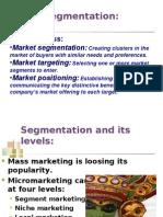 Chapter 8 Segmentation & Targeting