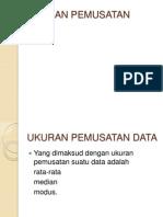 Ukuran Pemusatan Data