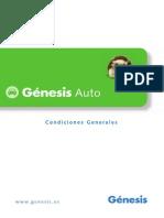 Condiciones Generales. Genesis