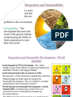 Integration of Health and Environment