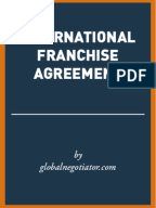 Mcdonalds franchise agreement franchising for Franchise manual template free