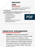 Unit 5 Classroom Management