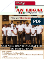 Kenyan Legal magazine Issue 3