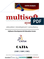 6 Months Project Based Training on CATIA