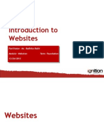 0 Foundation Websites Introduction