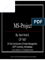 17044288 MS Project Tutorial