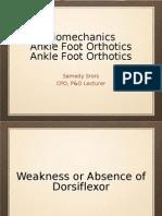 AFO-Biomechanics