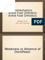 AFO-Biomechanics