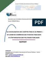 Consolidation Des Comptes Publics Rapport Du 24-02-2012