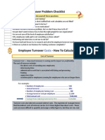 Turnover Cost Template