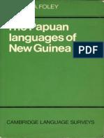 The Papuan Languages of New Guinea (Cambridge Language Surveys)
