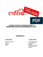 Project Report on Cocacola