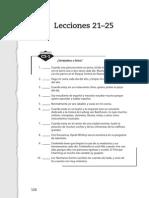 25b.resumen Lecciones 21 a 25