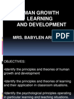 Human Growth Learning and Development Powerpoint